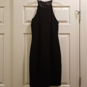 Calvin Klein Women's High Neck Sleeveless Dress